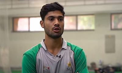 Qasim Akram's ambition is to become the best batsman in the world