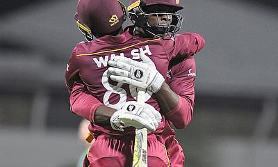 Ireland loses 1-wicket thriller to West Indies in 2nd ODI