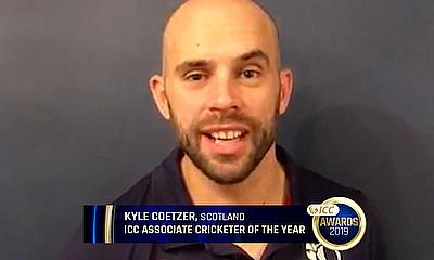 Kyle Coetzer Reacts on Winning the ICC Associate Player of the Year