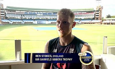 Ben Stokes ICC Player of the Year Reaction