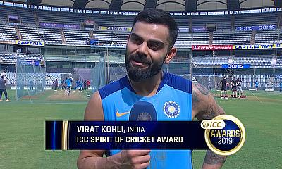 Virat Kohli Shares the Thought Behind the Gesture That Won Him the 'Spirit of Cricket' Award