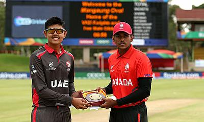 ICC U19 CWC: UAE v Canada v Highlights