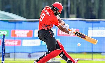 Ashtan Deonsammy of Canada during the ICC U19 Cricket World Cup