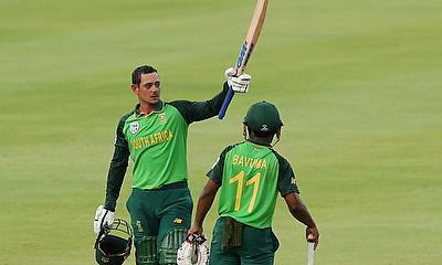 South Africa v England 1st ODI: De Kock and Bavuma share record stand to beat World Champions