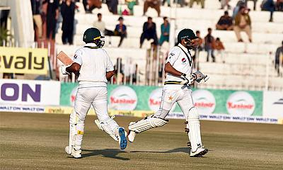 1st Test Pakistan v Bangladesh Day 2 - Free-flowing Babar powers Pakistan