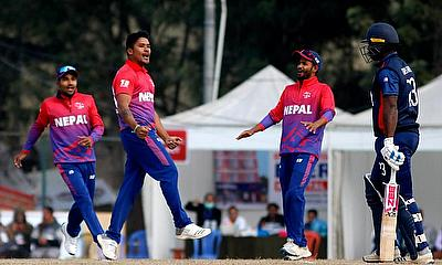ICC Men's Cricket World Cup League 2: Nepal beat United States by 35 runs