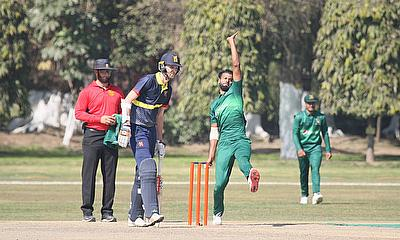 Ehsan Adil took six for 34 against the MCC at Aitchison College Ground - PCB