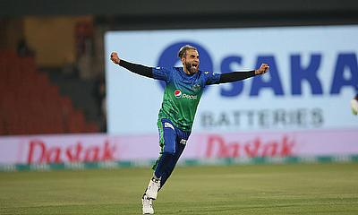 Imran Tahir was named man of the match for taking 2-21 - PCB