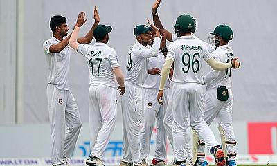 1st Test Bangladesh v Zimbabwe Day 4: Bangladesh win by an innings and 106 runs