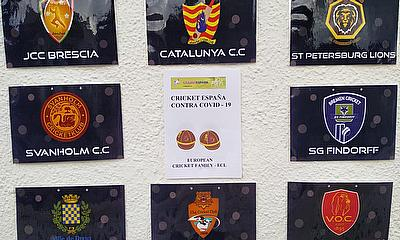 Spain shows support as part of European Cricket Family in fight against COVID19