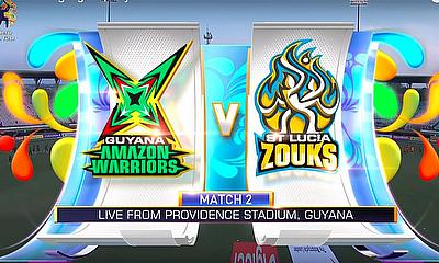 Guyana Amazon Warriors v St Lucia Zouks
