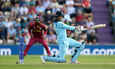 England's Joe Root in action