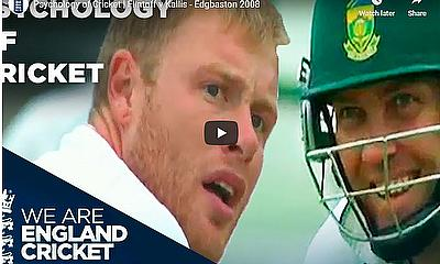 Psychology of Cricket | Flintoff v Kallis - Edgbaston 2008