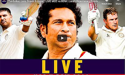 Tendulkar, Lara, Dravid & more! | LIVE MCC vs ROW | Lord's Bicentenary Celebration Match | Lord's