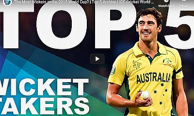 The Most Wickets at the 2015 World Cup