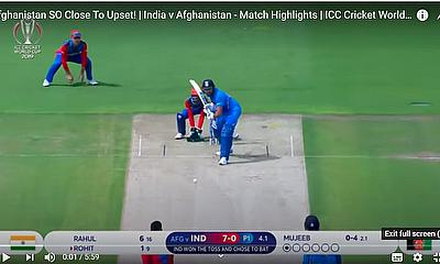 Afghanistan SO Close To Upset!