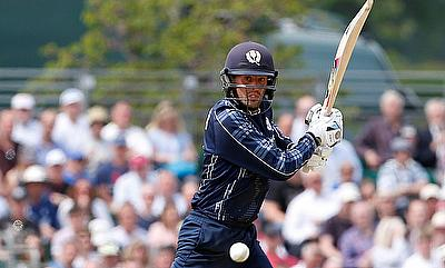 Who would have predicted that: Calum MacLeod leads Scotland to their first-ever ODI victory over England