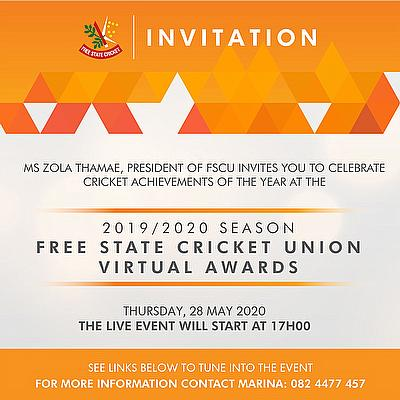 Potgieter and Botha Dominate Free State Cricket Virtual Awards