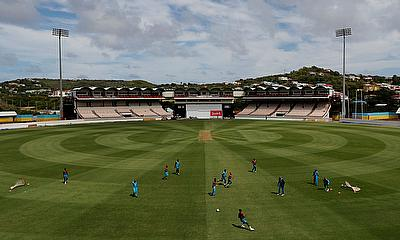 West Indies Nets - Darren Sammy National Cricket Stadium