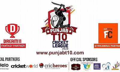 Dream 11, Fancode, Cricket World and Cricheroes to Partner Punjab T10 Cricket League