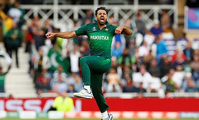 Who would have predicted that: Wahab Riaz had to defend 15 off the last over against Jason Holder, he did but only just