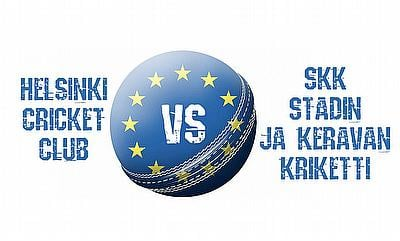 Finnish Premier League 2020 - Helsinki Cricket Club vs SKK Stadin ja Keravan Kriketti