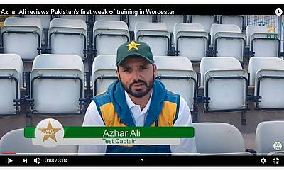 Azhar Ali speaks about Pakistan's first week of training in Worcester