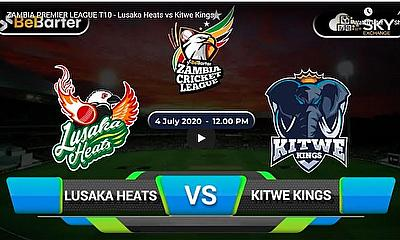 ZAMBIA PREMIER LEAGUE T10 - Lusaka Heats vs Kitwe Kings