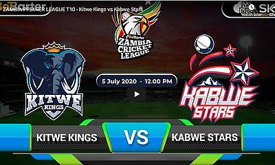 ZAMBIA PREMIER LEAGUE T10 - Kitwe Kings vs Kabwe Stars