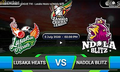AMBIA PREMIER LEAGUE T10 - Lusaka Heats vs Ndola Blitz