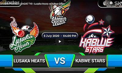 ZAMBIA PREMIER LEAGUE T10 - Lusaka Heats vs Kabwe Stars