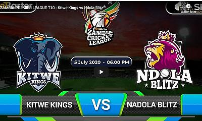 ZAMBIA PREMIER LEAGUE T10 - Kitwe Kings vs Ndola Blitz
