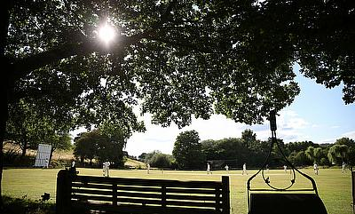 General view during a cricket match between Abinger and Worplesdon and Burpham
