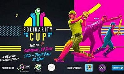 Historic Solidarity Cup match, presented by RAIN, to be broadcast internationally