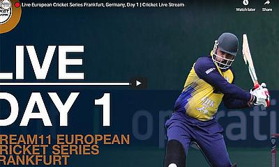 Live European Cricket Series Frankfurt, Germany, Day 1