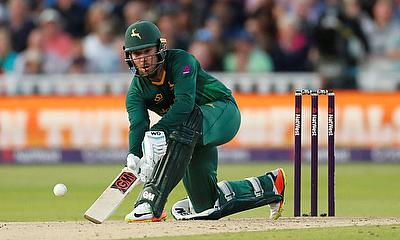 Brendan Taylor in action