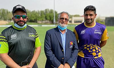 Emirates D10 Fujairah Pacific Ventures v Dubai Pulse Secure Match Toss