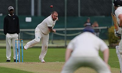 Skipper Gareth Watterson taking 4 wickets against Timperley