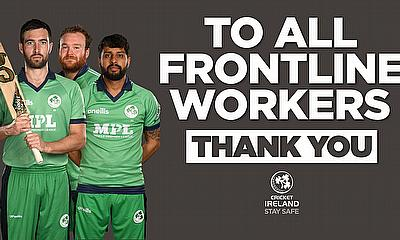 Ireland Men's cricket team to acknowledge frontline healthcare workers during #ENGvIRE ODI