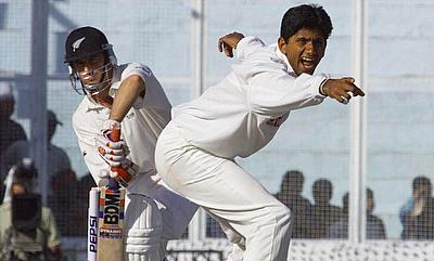 Indian bowler Venkatesh Prasad appeals