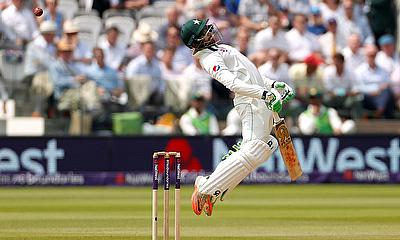 England vs Pakistan - First Test - Lord's Cricket Ground, London, Britain - May 27, 2018 Pakistan's Imam ul-Haq in action