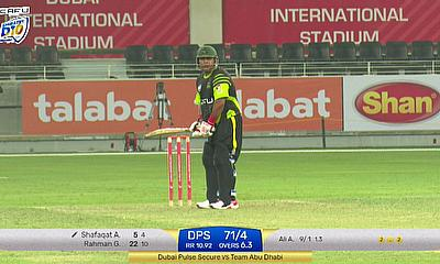 Shafaqat Ali takes strike