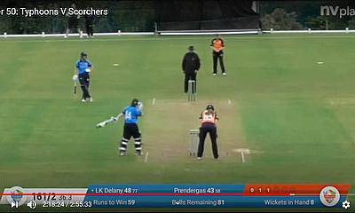 Super 50: Typhoons V Scorchers