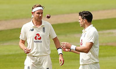 Stuart Broad and James Anderson Move up Test Rankings