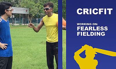 Fearless Cricket Fielding Drills with Chinmoy Roy