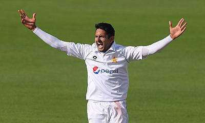 Mohammad Abbas prepares for 3rd Test Match