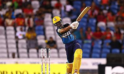 Shai Hope  Barbados Tridents in action