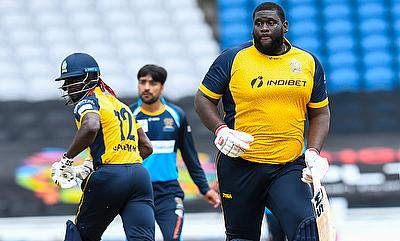 Action from Zouks win over Tridents