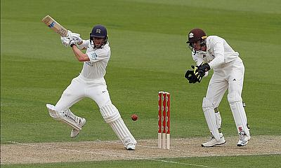Bob Willis Trophy - Middlesex v Surrey - The Oval - Action from Round 1