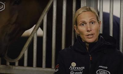 Mike & Zara Tindall MBE take COVID-19 rapid test to support campaign